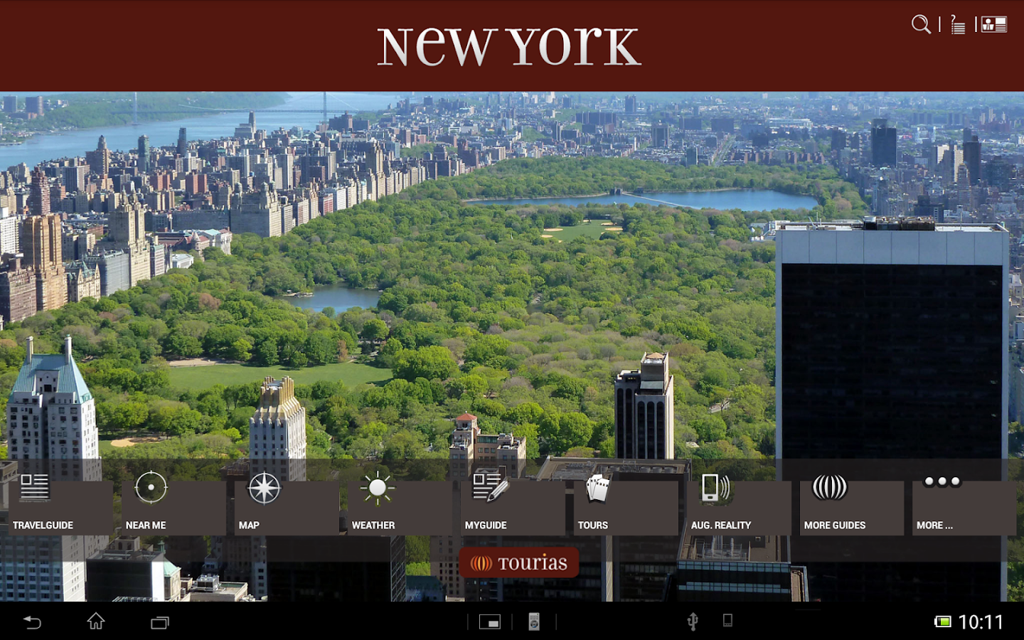 new york travel guide tourias android apps on google play. Black Bedroom Furniture Sets. Home Design Ideas