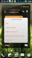 Screenshot of EZ SMS Widget