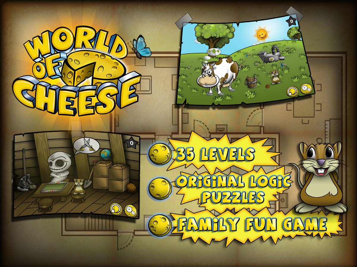 World of Cheese:Pocket Edition- screenshot