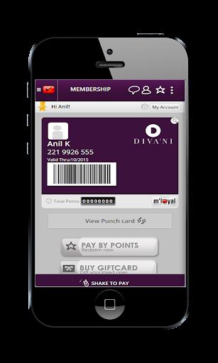 Diva'ni mLoyal App