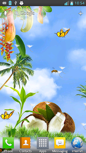 Tropic HD Live Wallpaper
