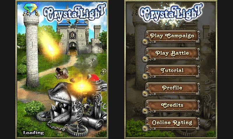 Crystallight Defense Free- screenshot