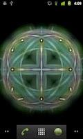 Screenshot of Glow Kaleidoscope LiveWallpape