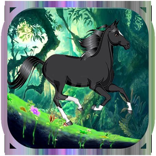 Dark horse run LOGO-APP點子