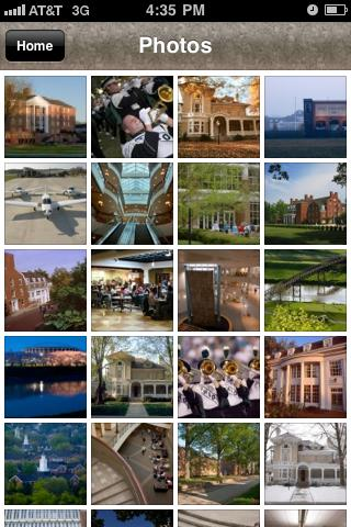 Ohio University - screenshot