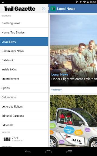 【免費新聞App】Estes Park Trail Gazette-APP點子