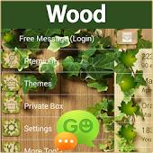 GO SMS Wood