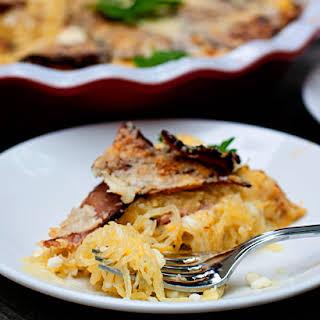 Cheesy Bacon Spaghetti Squash Casserole.