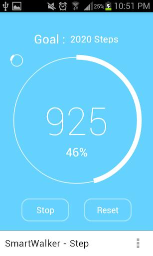 SmartWalker - pedometer