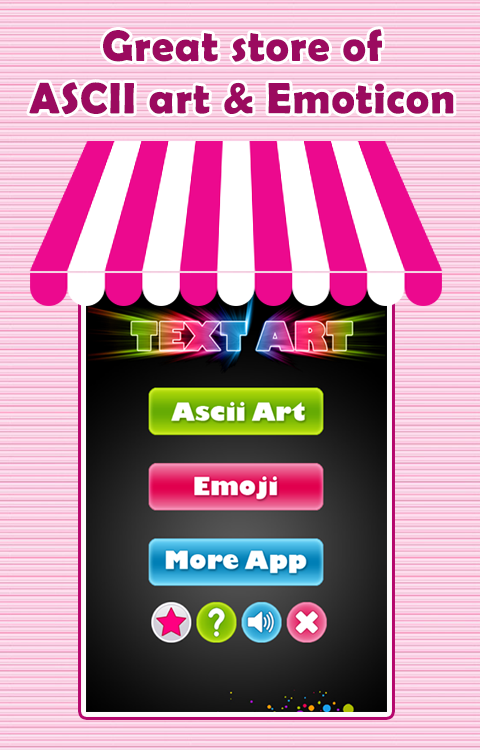 One Line Ascii Art Birthday : Ascii art emoticons android apps on google play