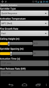 Sprinkler Activation- screenshot thumbnail