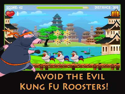 Kung Fu Cow - Free Ninja Game - screenshot thumbnail