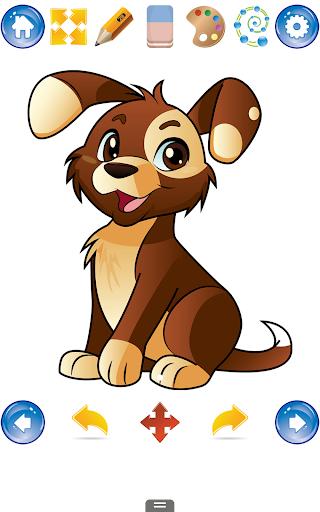 玩免費休閒APP 下載犬を描画し、パピーの方法 app不用錢 硬是要APP