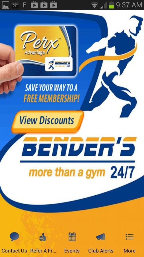 Bender's Gym AL- screenshot
