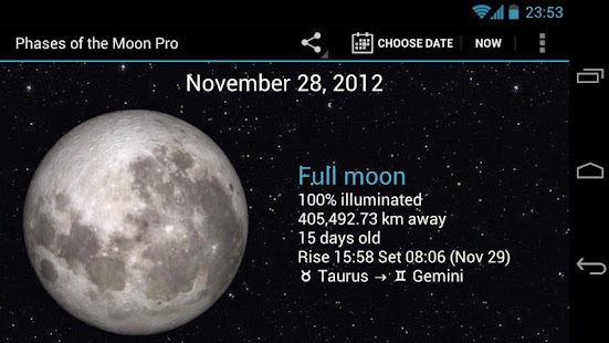 Phases of the Moon Pro - screenshot thumbnail