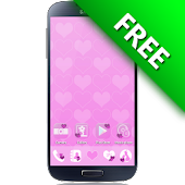 Hearts, Love GO Launcher Theme