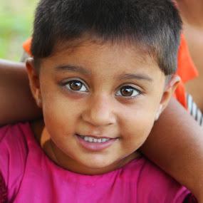 Pause by Abdul Rauf Chaudhry - Babies & Children Children Candids ( candid kid child pakistan bacha bachi gaon village dehati innocent )