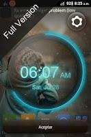 Screenshot of wClock widget free