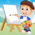 Game Belajar Mewarnai Gambar