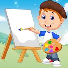 Game Belajar Mewarnai Gambar icon