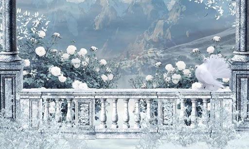 Romantic Snow Live Wallpaper