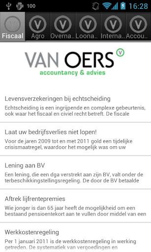 Van Oers Accountancy Advies