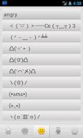 Screenshot of Emoji Kaomoji Emoticons