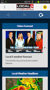 WKMG Local 6 Storm Tracking- screenshot thumbnail