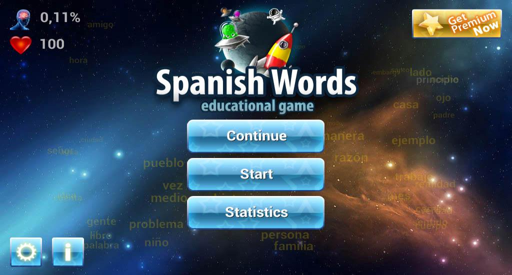 Learn 20000 Spanish Words Fast- screenshot