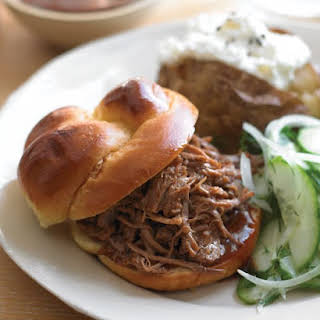 Southern Pulled-Pork Sandwiches.