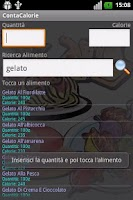 Screenshot of Conta Calorie