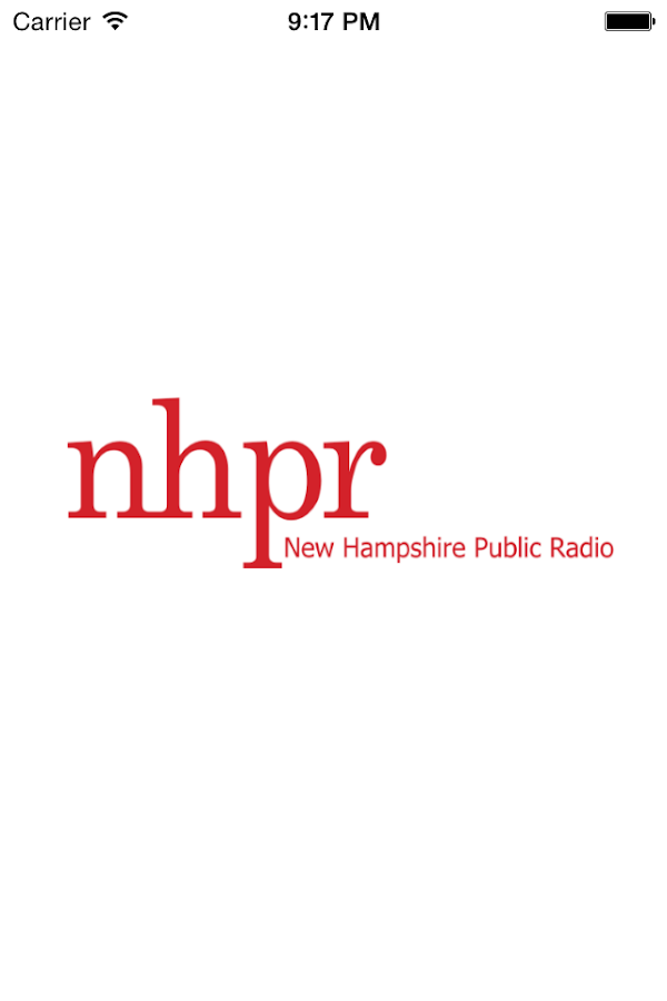 NHPR Radio- screenshot