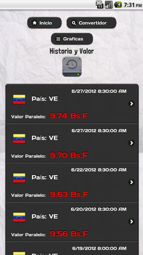 Venezuela Dolar Paralelo Lite - screenshot