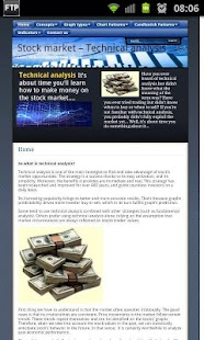 StockMarket Technical analysis - screenshot thumbnail