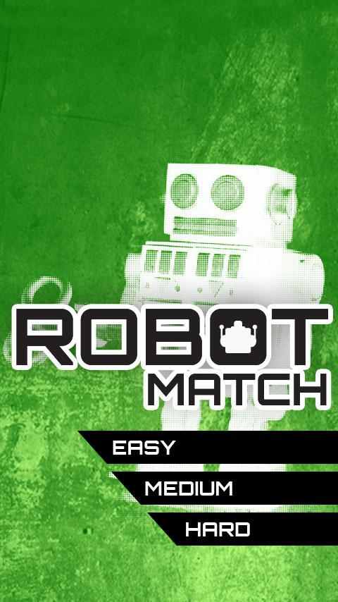 Robot Match - screenshot