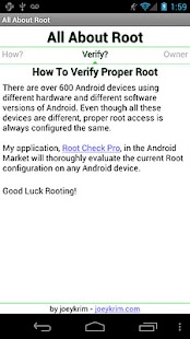 All About Root - screenshot thumbnail