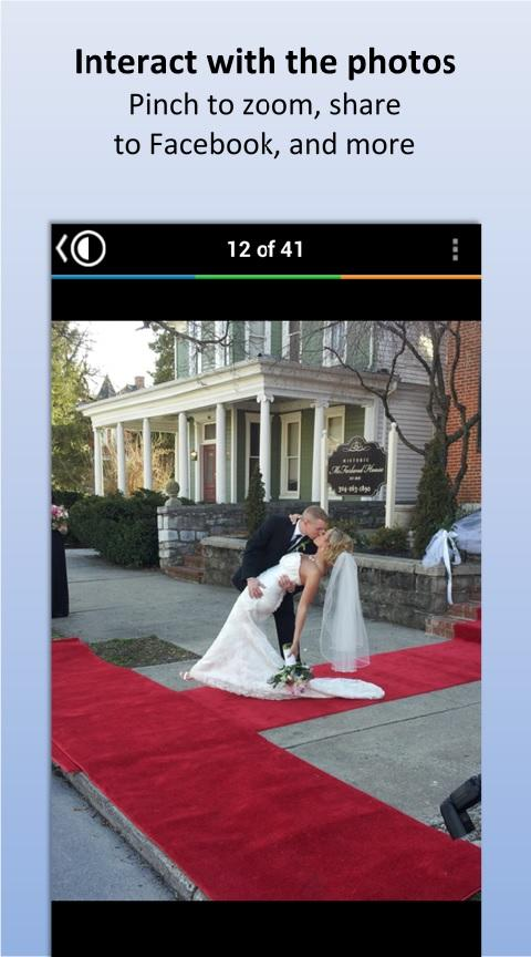 CapsuleCam - Wedding Photo App- screenshot