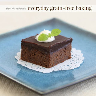Coconut Flour Brownies with Chocolate Ganache from Everyday Grain-Free Baking by Kelly Smith..