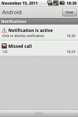 Notification pack- screenshot