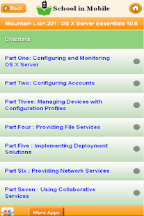 Apple OS X Server exam Prep - screenshot thumbnail