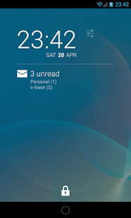 K-9 Mail DashClock Extension- screenshot thumbnail