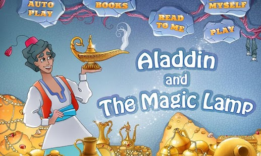 Aladdin The Magic Lamp Book