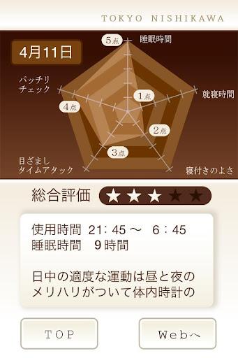 無料生活Appの東京西川の睡眠アプリ|記事Game