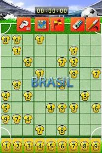 Soccer Sudoku- screenshot thumbnail