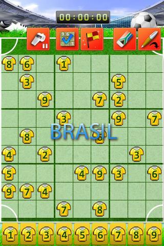 Soccer Sudoku- screenshot