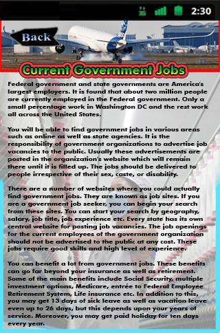 Current Government Jobs