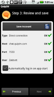 QuipIM for Sametime Standard - screenshot thumbnail