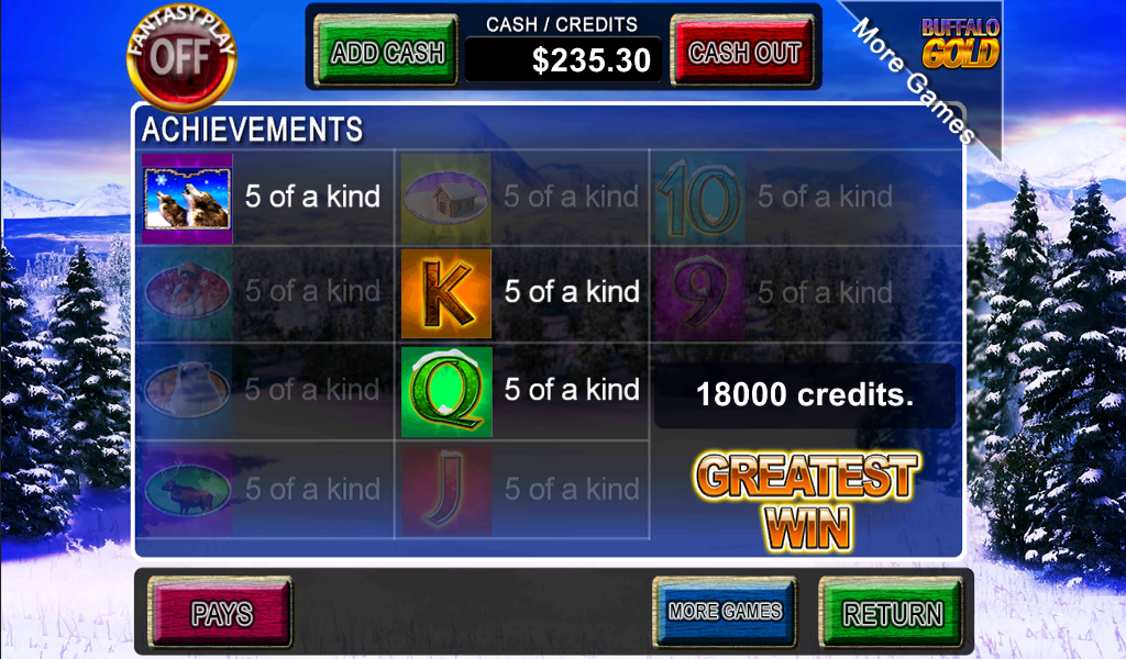 Wolf Gold - Slot Game - screenshot