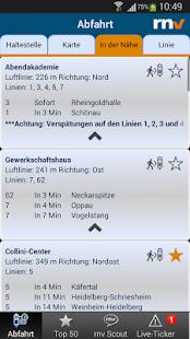 RNV Start.Info - screenshot thumbnail
