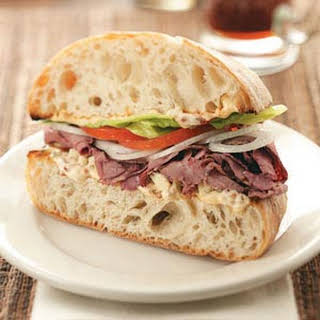 Chipotle Roast Beef Sandwiches.
